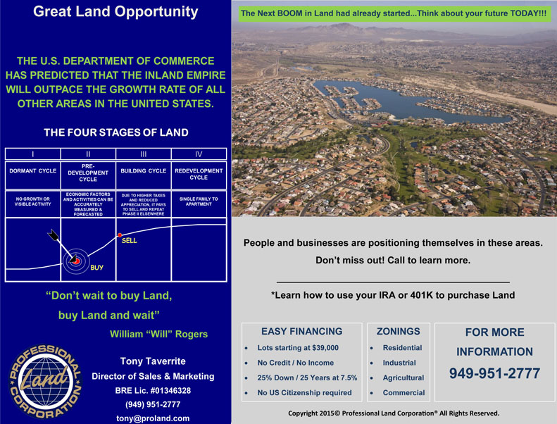 Great Land Opportunity