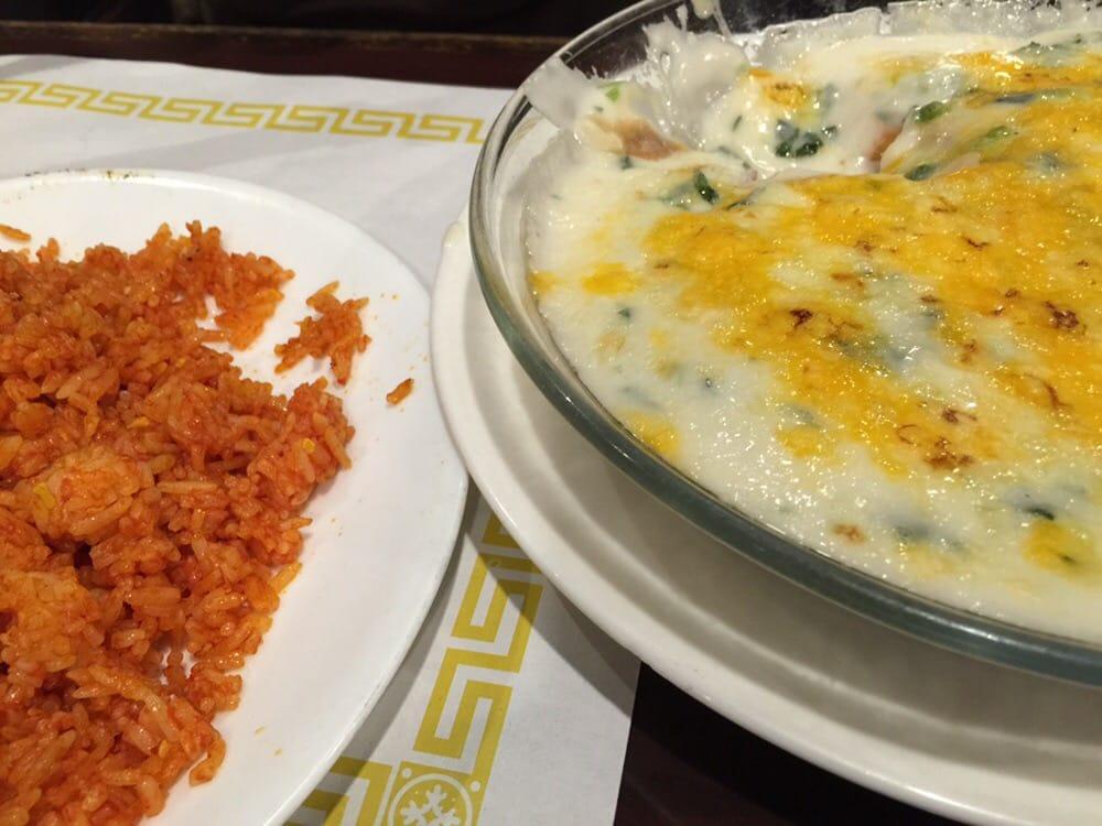 菠菜三文魚和紅米飯