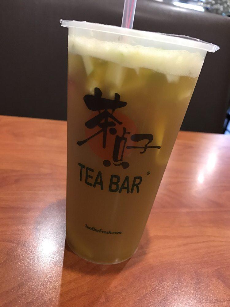 葡萄水果綠茶
