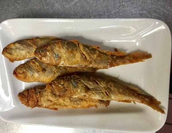 香煎小黃魚