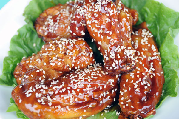 Sesame-Chicken-Wings