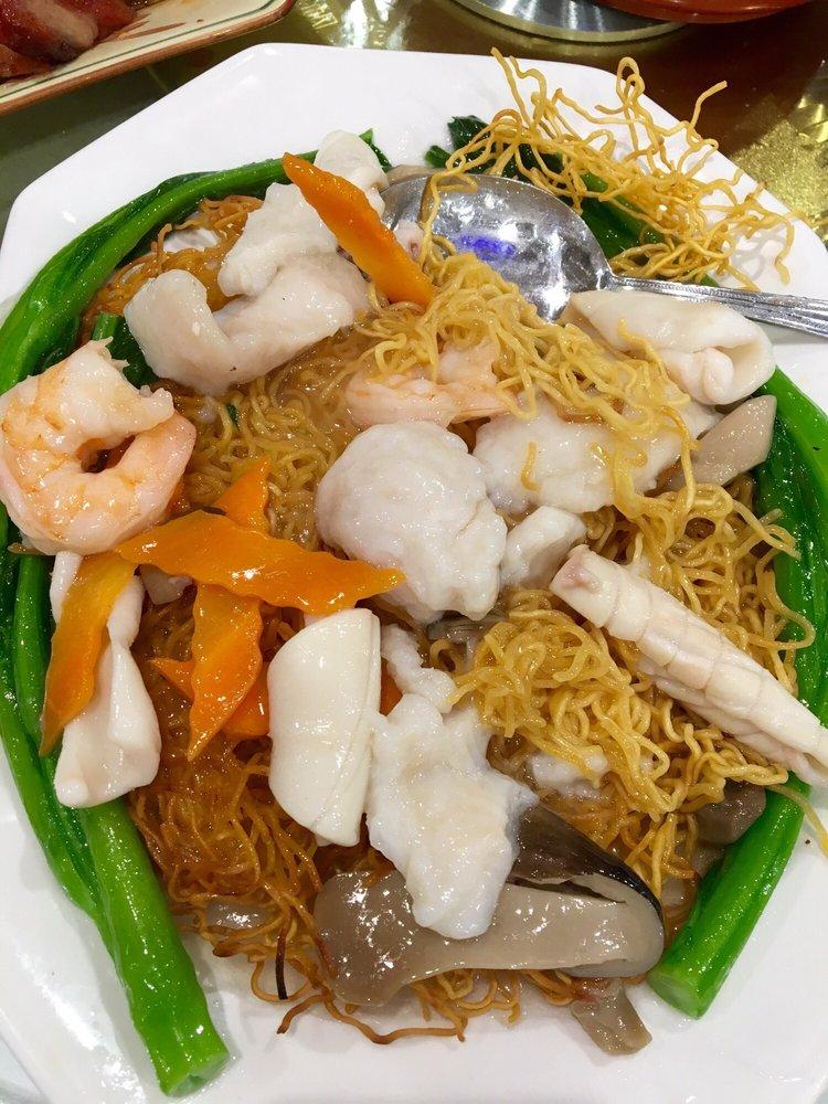 海鮮青菜炒麵