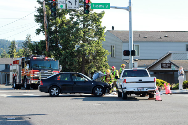 Car Accident - Bellingham Fire Engine 4