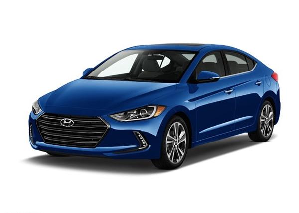 1 2017 Hyundai Elantra Limited Sedan