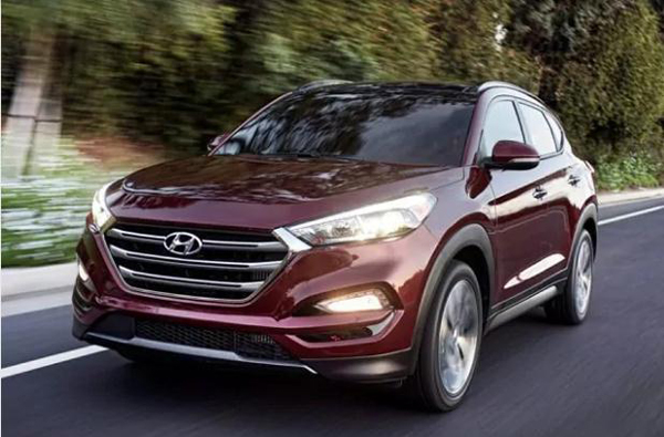 7 2017 Hyundai Tucson Night SUV