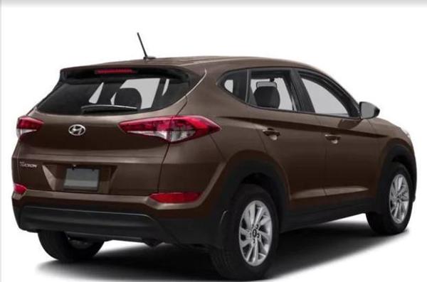 9 2017 Hyundai Tucson Night SUV